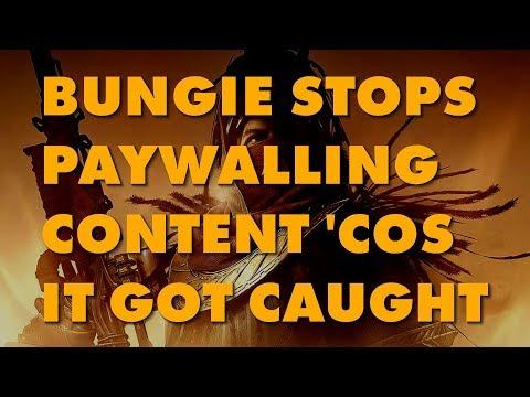 Destiny 2 Ungating Content Originally Gated Off By DLC