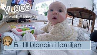 VLOGG - En till blondin i familjen:) Städ- och bakdag.