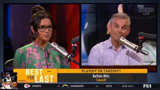 Colin Cowherd Predicts Colin tells which NFL contenders will make the Playoffs | The Herd