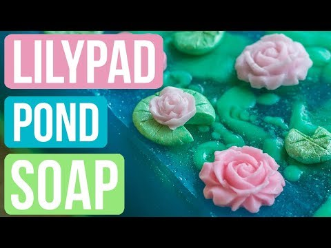 Rainy Lily Pad Pond Soap| Royalty Soaps