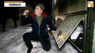 Мигрант начал спорить с гаишником во время проверки маршруток в Твери