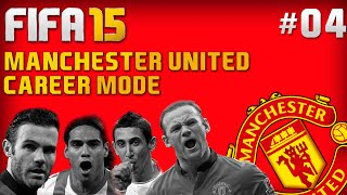 FIFA 15 Career Mode - Manchester United #4 - First Premier League Games! (FIFA 15 Gameplay)