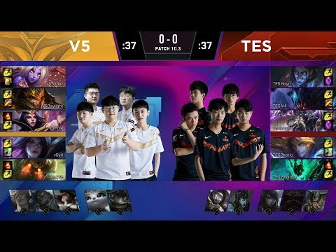 VOD: Victory Five vs Top Esports - LPL Spring 2020 - Game 2