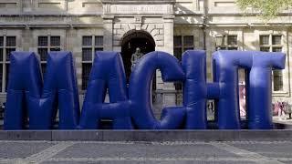 De Beweging van MACHT - Stadsgedicht Maud Vanhauwaert