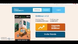 Make 0.01 BTC/ day Free Bitcoin MIner and BitCoin Faucet House