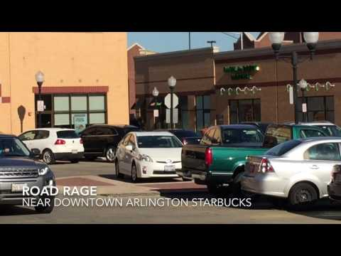 Road Rage Downtown Arlington Heights Near Starbucks