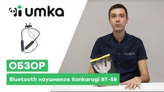 Bluetooth наушники Sankaragi BT-58 / распаковка и обзор беспроводной bluetooth-гарнитуры