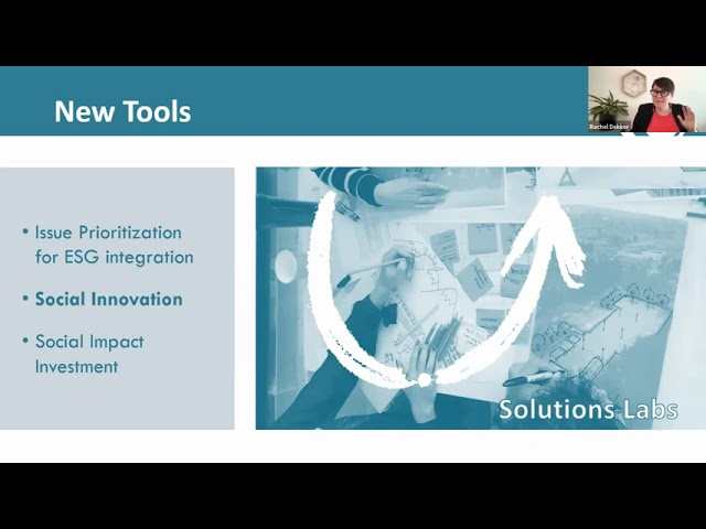 Rachel Dekker1 & Elizabeth Freele2 - Next-Gen Social Investment: New Tools to Support Community...