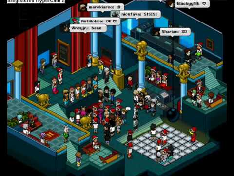 Habbo Club Party! - YouTube