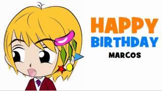 HAPPY BIRTHDAY MARCOS!