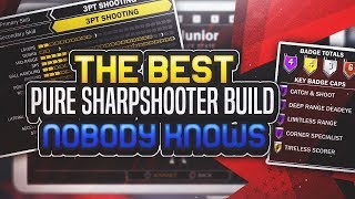 NBA 2K18- BEST BUILD FOR SHARPSHOOTER thumbnail