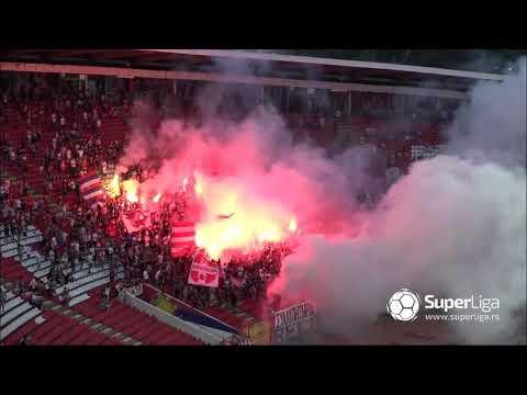 Super liga 2018/19: 2.Kolo: CRVENA ZVEZDA – RADNIČKI NIŠ 2:0 (1:0)