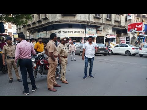 Nagpur DCP Rahul Maknikar parades goons who went on rampage, asks citizens not to be scared