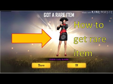 NEW TRICK RARE ITEMS PERMANENT BUNDLE FREE FIRE    How to Get Rare Items in Free Fire