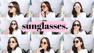 MY SUNGLASSES COLLECTION 2019 (high-end & high-street)