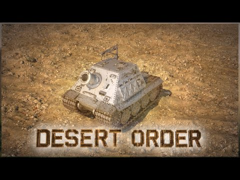 Desert Order: New Strategy Game 2019: Attack With Sturmtiger