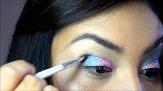 Makeup tutorial: Green and Pink Thumbnail