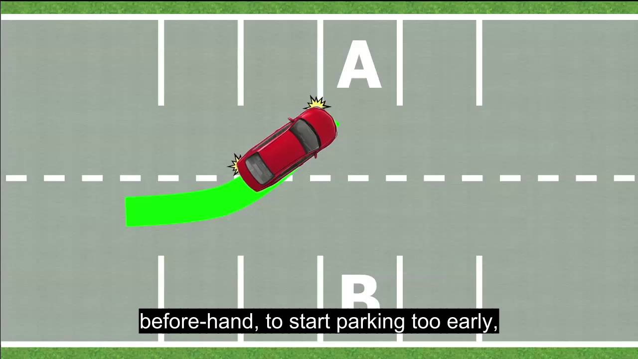 Download Perpendicular Parking - How to Park a Car in Parking Space
