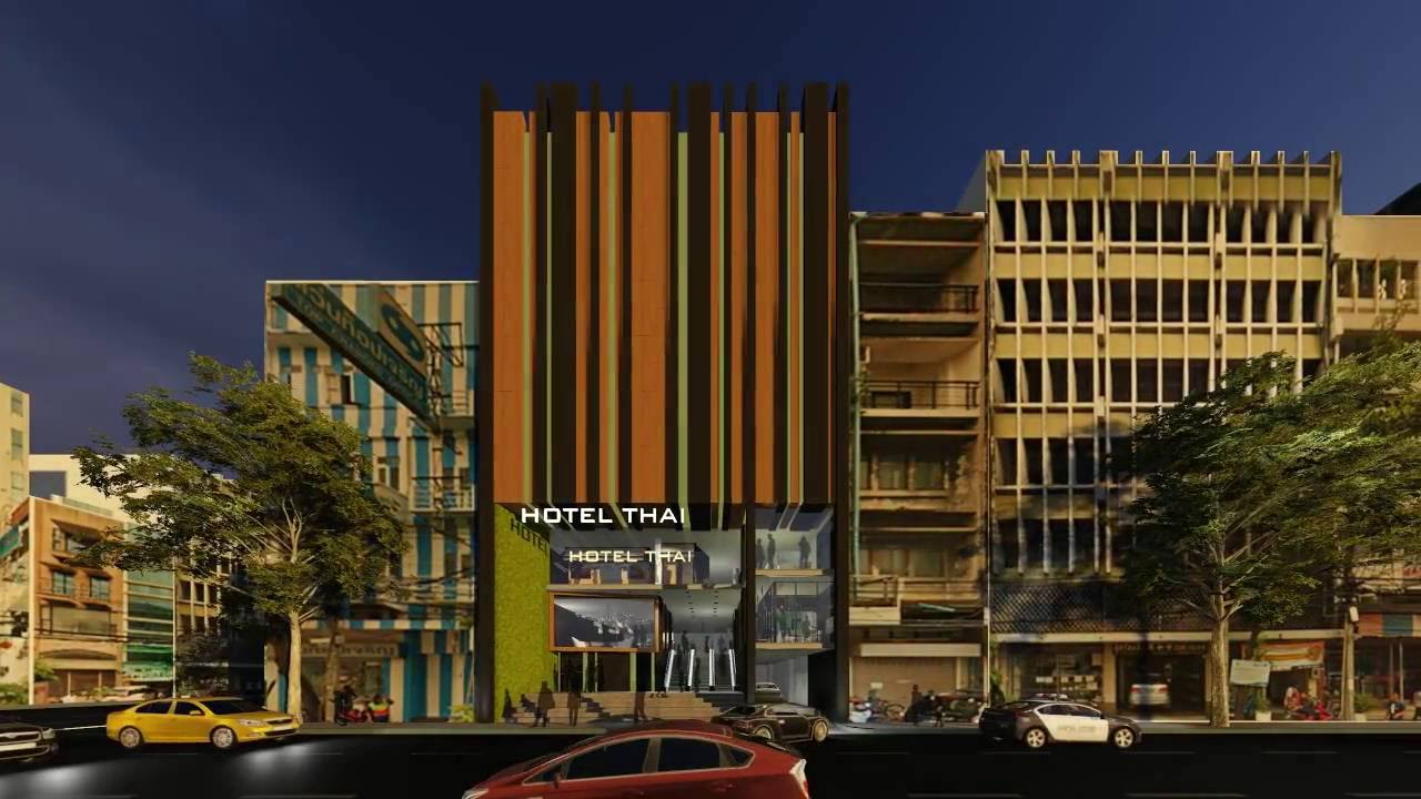 Day and night facade hotel design youtube for 8 design hotel