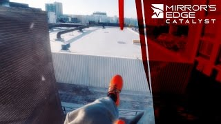Mirror's Edge Catalyst - Real Life Time Trial(BTS https://www.youtube.com/watch?v=MX5WVRDK63o BLOG POST http://www.claudiu.co.uk/2015/06/mirrors-edge-catalyst-real-life-time-trial/ DIRECTED ..., 2015-06-10T15:23:53.000Z)