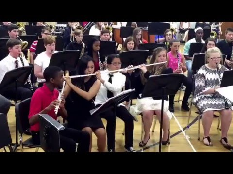 Memorial Park Middle School Advanced Band -  Lord of the Rings