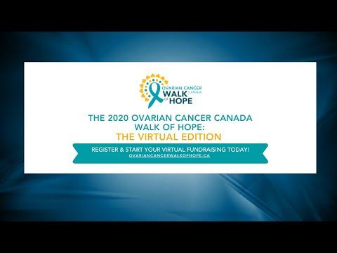 Ovarian Cancer Canada Walk Of Hope Youtube