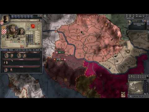 Crusader Kings II - Hungary: Croatian War #01