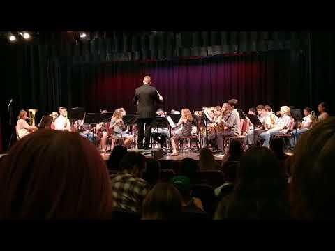 Manhattan Middle School Concert Band - Peregrin: A Traveler's Tale