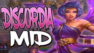 Smite: Discordia Mid Gameplay - THE BURST DAMAGE IS CRAZY!