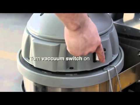 Steam-Brite Terminator A Vapor Steam Cleaning Machine