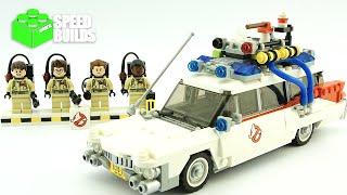LEGO Ideas Ghostbusters Ecto-1 - LEGO 21108 Speed Build