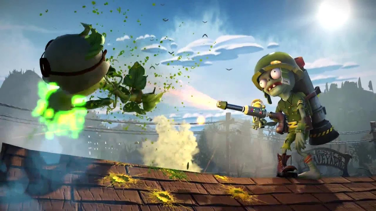 Plants Vs Zombies Garden Warfare Trailer E3 2013 Xbox