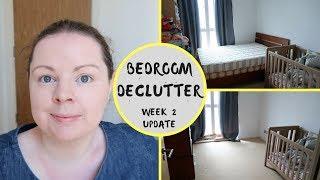 DECLUTTER CHALLENGE || WEEK 2 || TODDLER BEDROOM DECLUTTER