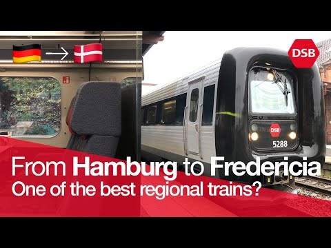 TRAIN TRIP REPORT | DSB IC3 (1ST CLASS) | Hamburg Hbf 🇩🇪 - Fredericia 🇩🇰