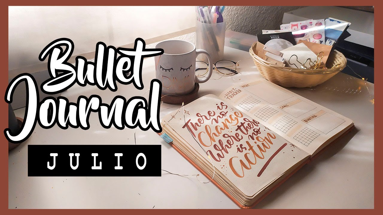 BULLET JOURNAL JULIO 2020