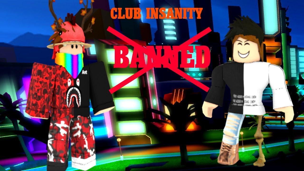 Roblox Club Insanity Banned Youtube
