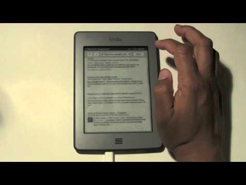 Kindle Touch: How to Use the Internet​​​ | H2TechVideos​​​