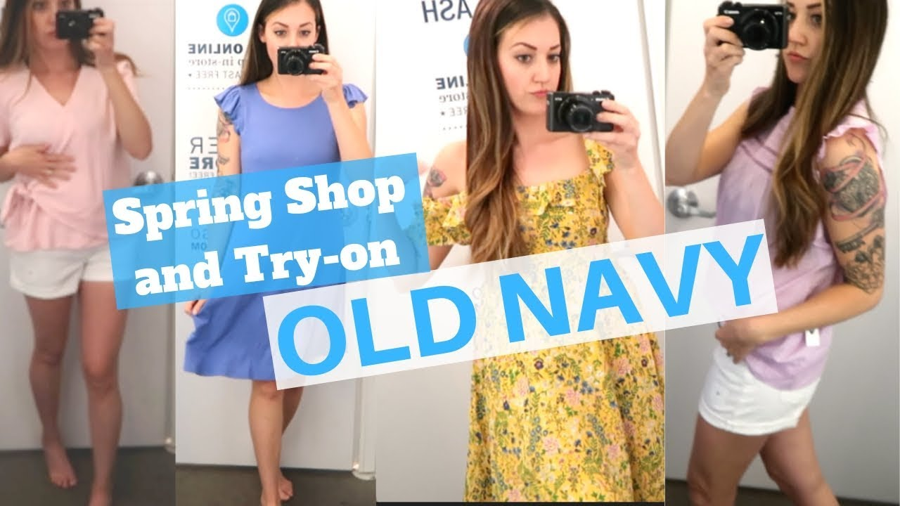 Try On With Me | Old Navy Sale Shopping | Spring 2019 Outfits Old Navy