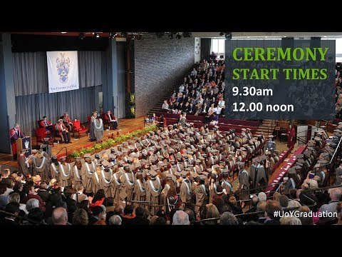 Ceremony 11: Saturday 15 July at 12.00 noon