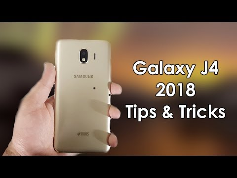 Samsung Galaxy J4 2018 Tips & Tricks! Hidden Features Urdu/Hindi