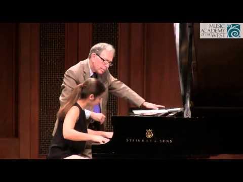 Jerome Lowenthal Solo Piano Masterclass June 22, 2015