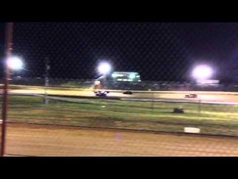 West Siloam Speedway FWD Feature (7/11/14) doorslam