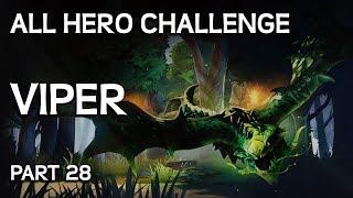 Ağlamalı - Bütün Kahramanlarla Mücadele Challenge Part # 28 - Viper Gameplay.