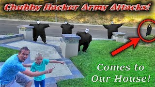Chubby Hacker Army Led By the Game Master Returns! Captured &amp Locked in Box Fort!