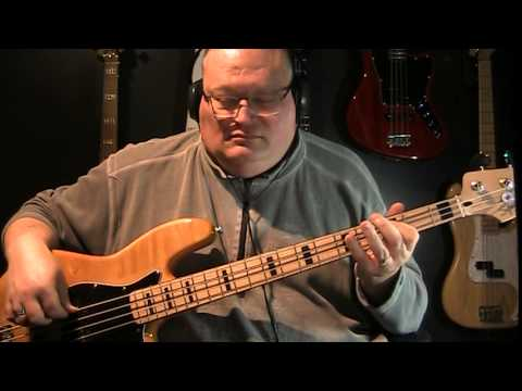 Gary Moore Parisienne Walkways Bass Cover - YouTube