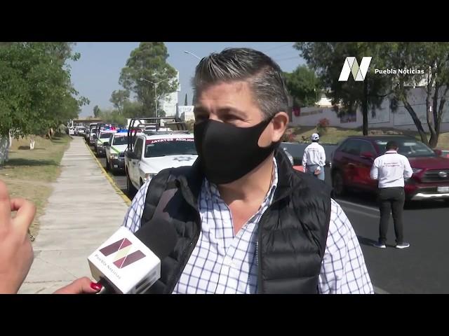 """José, uno de los poblanos que por descuido incumplió con el """"Hoy No Circula"""""""