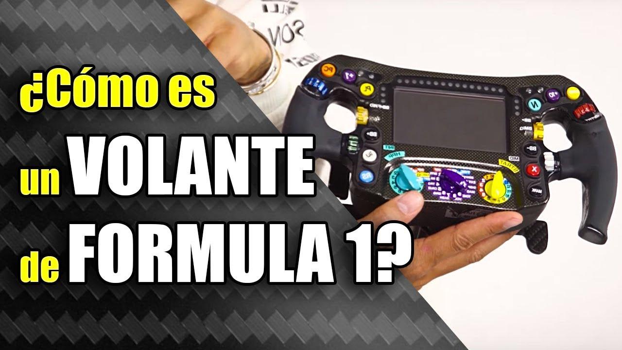 El VOLANTE de un FORMULA 1 ► ???? EXPLICADO ???? ¿Cómo funciona un volante de F1 de 2019?