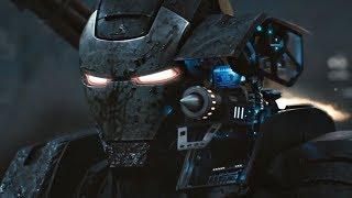 Железный Человек и Воитель против Хлыста(Ивана Ванко)   Железный человек 2   4K ULTRA HD