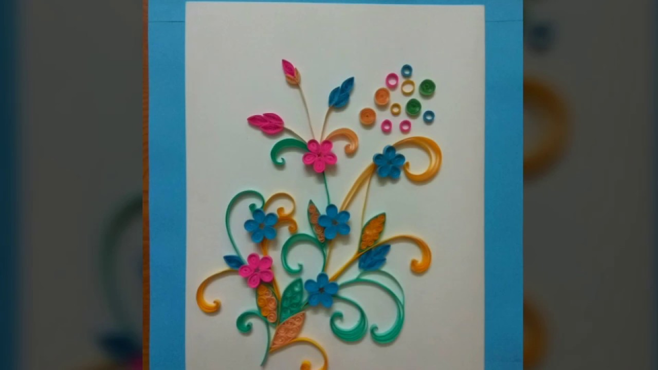 Quilling wall art & Quilling wall art - YouTube
