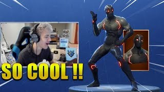NINJA REACTS *SEASON 4* SKINS & EMOTES/DANCES & TRAILER !? Fortnite Battle Royale
